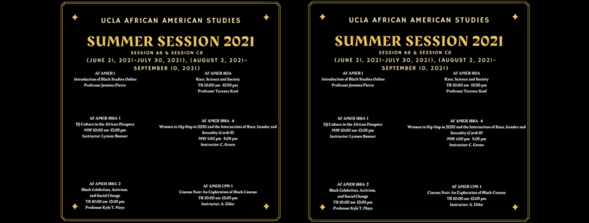 Summer Session Flyer